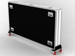 DEMO SWEDX Lamina / Kiosk Flight Case 58 Zoll