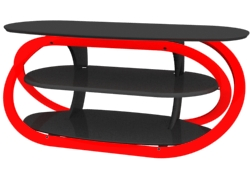 SWEDX TV-Table. Red