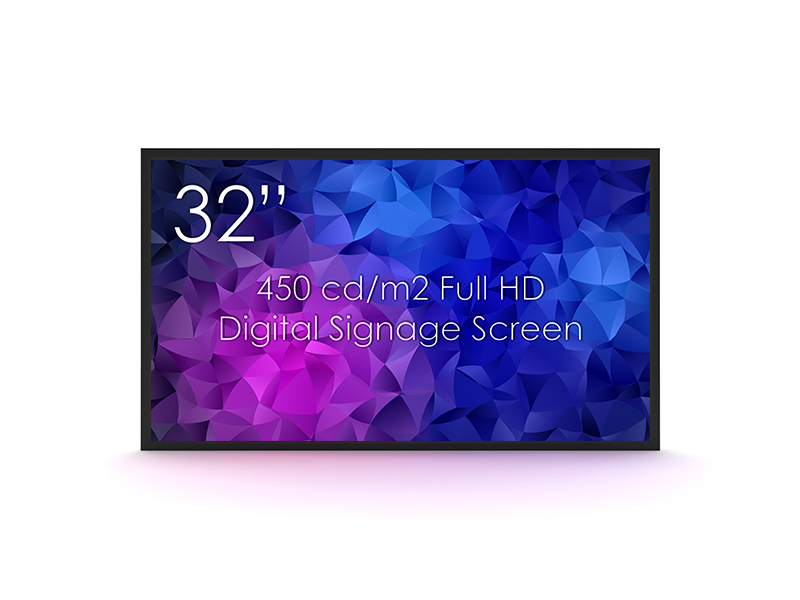 SWEDX 32 Zoll (81 cm) Digital Signage Display 450 cd/m²