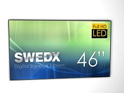 DEMO - SWEDX Digital Skylt 46 tum Full HD