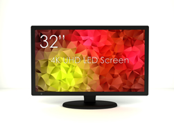 SWEDX 32 inch 4K Screen. Pixel Policy 2