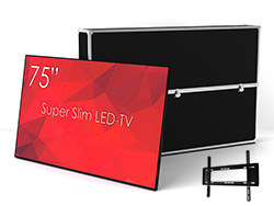 SWEDX SuperSlim 75 4K 120hz LED-TV