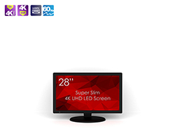 SWEDX 28 inch UHD-4K LED Screen. Pixel policy 2