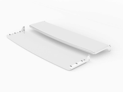 "SWEDX Lamina 50"" Front/Back Shelf - White"